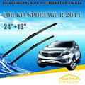 "Escovas Para KIA SPORTAGE (2010-) 2011 2012 2013 2014 2015 Car Windscreen Windshield Wiper Wiper Blade 24 ""+ 18"" carros estilo"