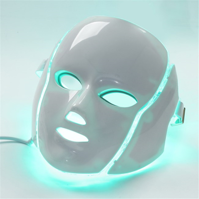 LED light mask home use cosmetology therapy device (3)_
