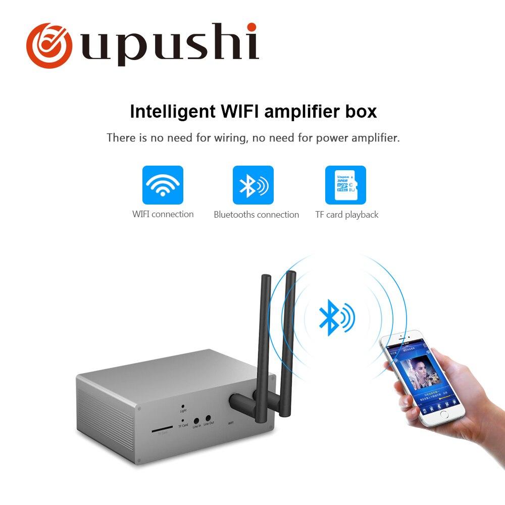 Clever Intelligente Wifi Modul Mz01 Wirless Bluetooth Steuer Kleine Verstärker Box Für Home Hintergrund Musik System