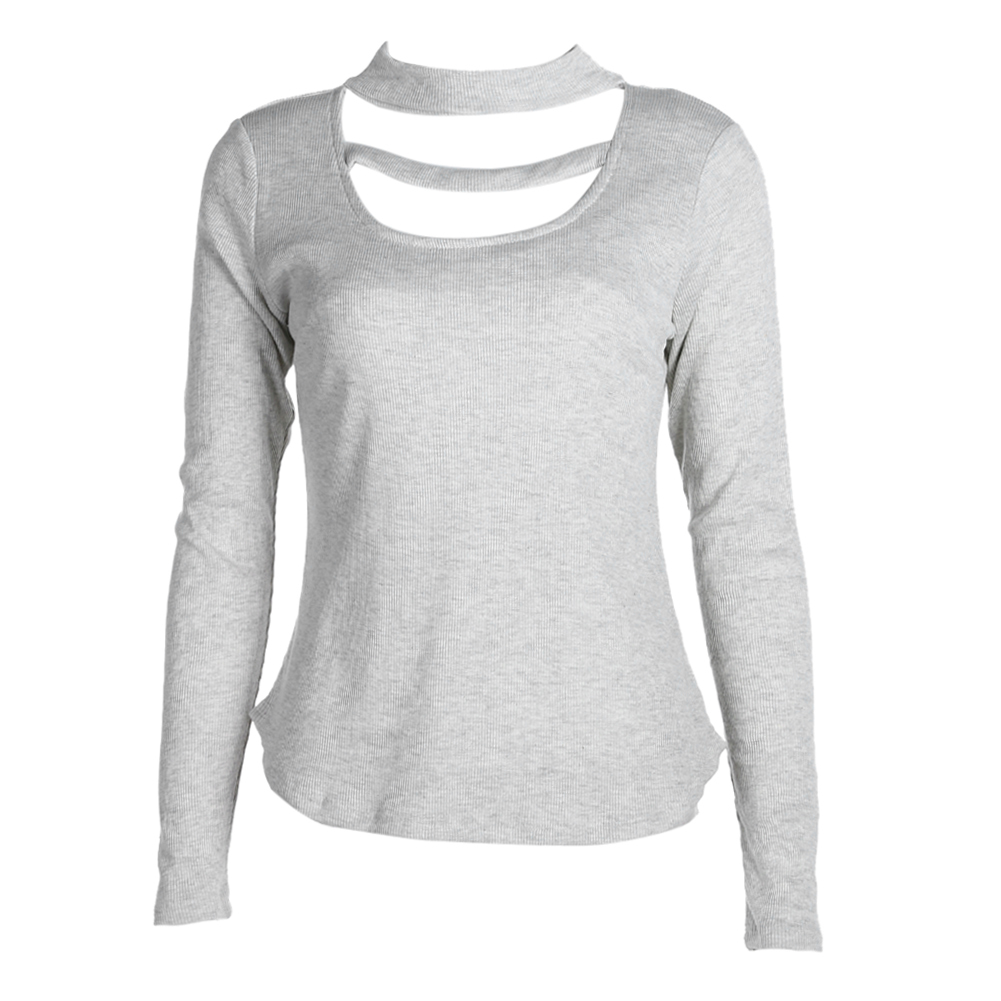 Women Lady Loose Long Sleeve Cotton Casual Tops Shirt T-Shirt unique style fit for all kinds of ladies