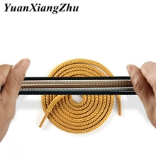1Pair 14 Colors Shoe laces Round Sneakers ShoeLaces Kids Adult Outdoor Sports Shoelaces Strings Length 80 100 120 140 160CM YD-3