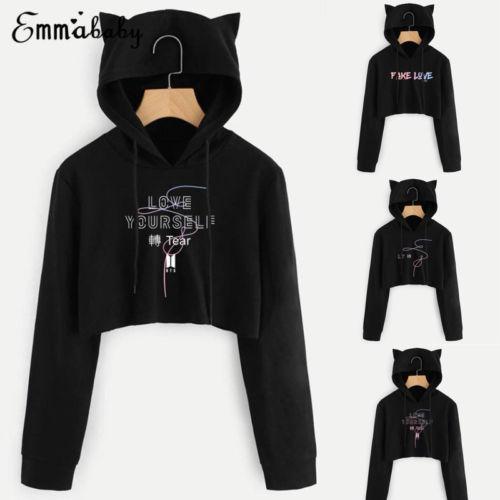 e6f8c5d16d72 KPOP BTS Bangtan Boys Love Yourself Sweatshirt Hoodie Sweater New-in ...
