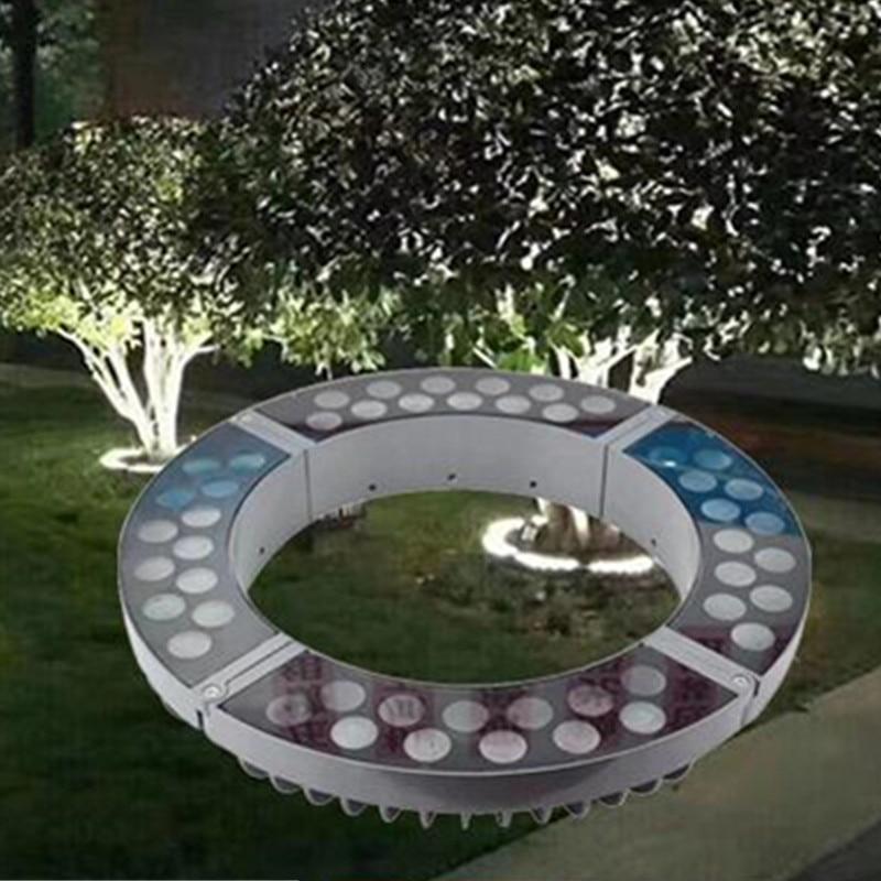 Led Tree Light Outdoor Waterproof IP67 12W DC24V AC220V Gazebo Tree Landscape Projection Light Festival Christmas Illumination