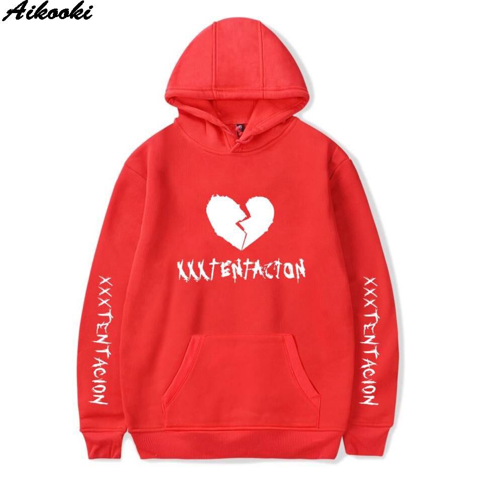 Aikooki Autumn Men/Women Hoodies XXXTentacion Hooded Womens Sweatshirt 2018 Casual Sweatshirts Plus Size Tops Harajuku Hoodies