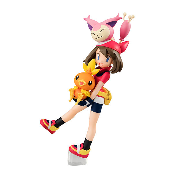 Hot 1set 12CM Japanese anime figure May Torchic Skitty action figure collectible model toys brinquedos