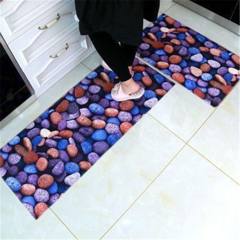3D Kitchen Carpet Alfombra Cocina Doormat Kitchen Mats For Floor Deurmat Front Door Mat Rugs For Kitchen Antislip Outdoor Indoor