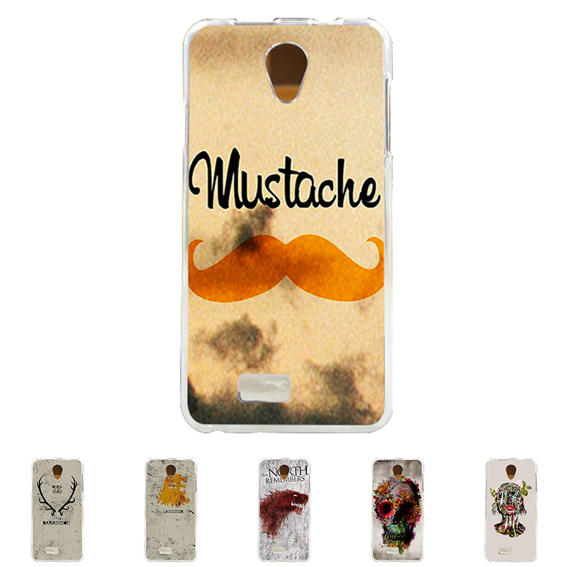 For Fly IQ 4416 Era Life 5 Soft TPU Silicone Mobile Phone Cover Case Color Paint Skin Mask Cellphone Bag Shell Free Shipping