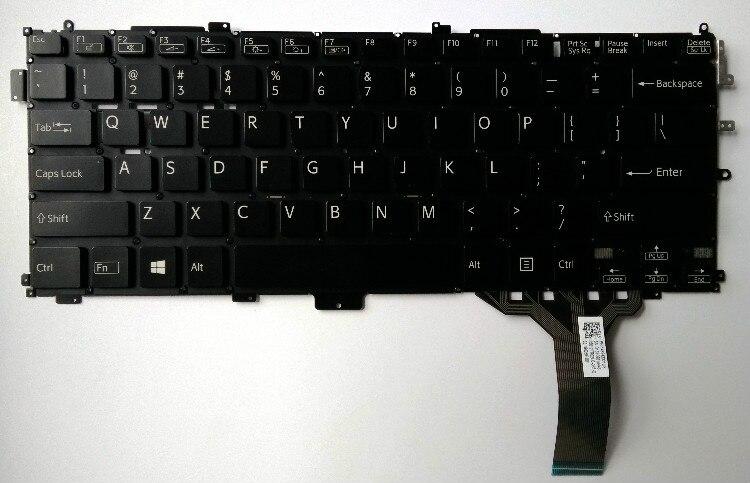 """חדש עבור sony vaio VAIO SVP1321S1EB SVP1321L1EBI SVP1321S9EB SVP1321 אנגלית ארה""""ב מקלדת החלפת מחשב נייד"""