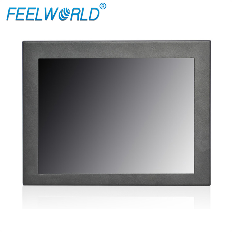 P823-3AHT 8 Inch Touch Monitor 1024x768 TFT LCD Industrial Monitor 8 Touch Screen Panel Mount Monitors Feelworld
