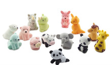 Iwako animal style 3d eraser 14pcs lot gift
