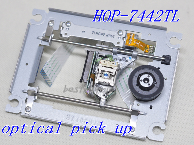 DVD drive audio system  DL-R200  laser head HOP-7442TL with mechanism  HOP-7442   7442TL Optical pick up