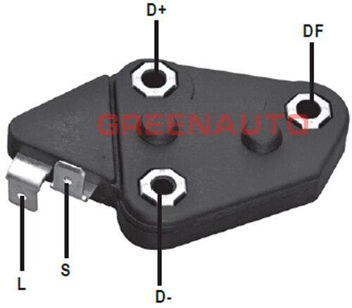 14V 65A новый регулятор напряжения генератора 94632541 94648534 347028 347042 для GM title=