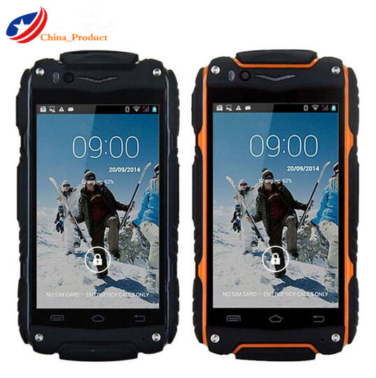 24 Hours Shipping Guophone V8 Waterproof Phone Android 4 4 Outdoor Rugged Phone MTK6572 512