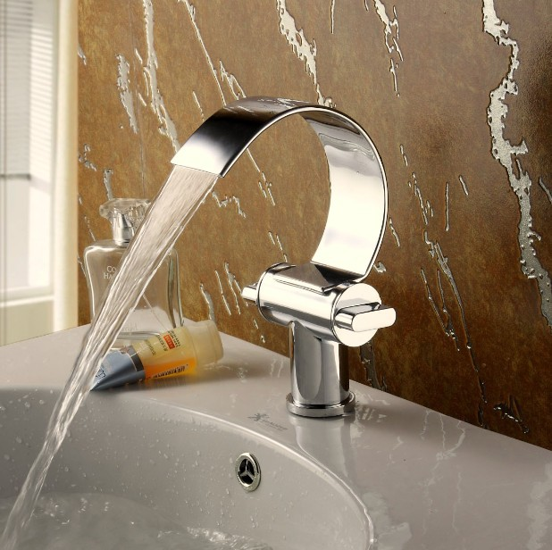 BECOLA Bathroom Water Tap Single Hole Basin Faucet Bathroom Faucet Brass  Unique Design Mixer Tap Torneira Part 71