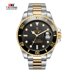 Image 3 - TEVISE Men Watches Automatic Mechanical Mens Watch Luxury Brand Waterproof Luminous Mens Calendar Wrist Watch Relogio Masculino