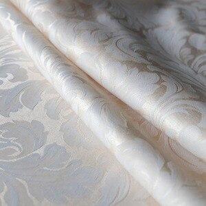 Image 3 - ستائر حمام مصنوعة من قماش مقاوم للماء من ورق الجاكوارد والبوليستر ستائر حمام أنيقة أوروبية ستارة حمام سميكة