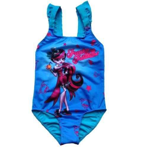 caf2484a8e162 Girls Monster Sleeveless Swimsuit One Piece Kids Bathing Suit Big Girl  Swimwear Teens Beach Surf Clothing