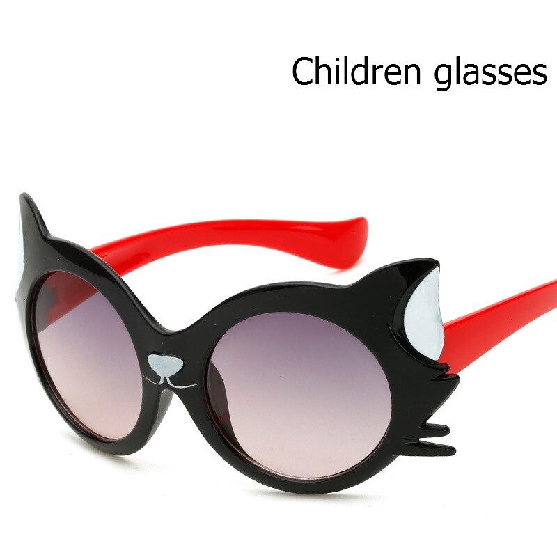 8e34cc82655e New summer Hot sale Colorful Fashion Kids Sunglasses Brand Sun Glasses Boys  Girls High quality cartoon cat animal sunglasses