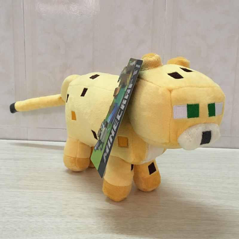 Big Size Minecraft Plush Toys 35cm Minecraft Ocelot Cat Plush Soft Stuffed Animals Toys for Children Kids Christmas Gifts samsung me83krw 3