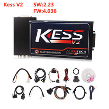 2016 ECM V2.23 FW V4.036 KESS V2 OBD2 gerente de Sintonización Kit Maestro Versión con No Token Limitación con Español/Francés DHL envío