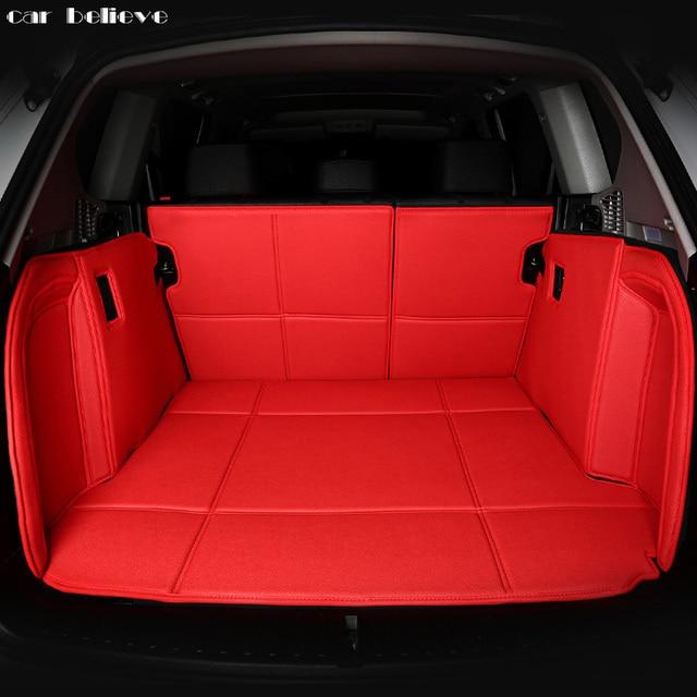 Car Believe Custom Car Trunk Mat For Bmw X1 X3 X4 X5 X2 X6 Cargo