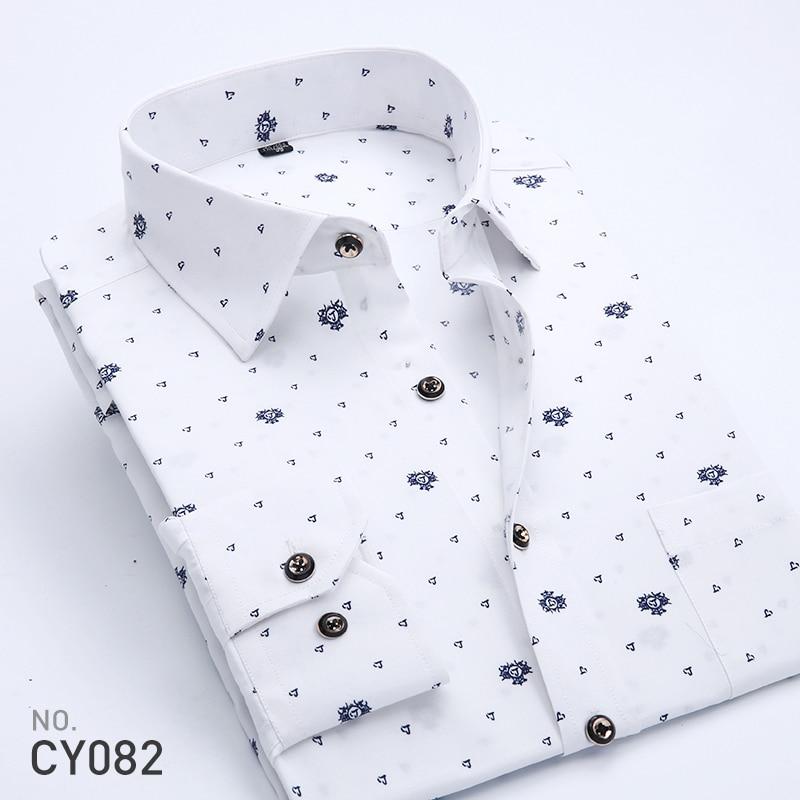 5ebcf5a4 2018 Retro Floral Printed Men Casual Shirts Classic Men Dress Shirt Men's  Long Sleeve Brand New ...