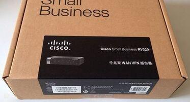 New original Cisco RV320 K9 CN Gigabit Dual WAN VPN Router