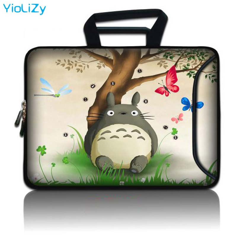 Customize Neoprene 10 12 13 14 15 17 Polegada Sacos Notebook manga estojo protetor bolsa Para Laptop Tablet com tampa bolso SBP-23807