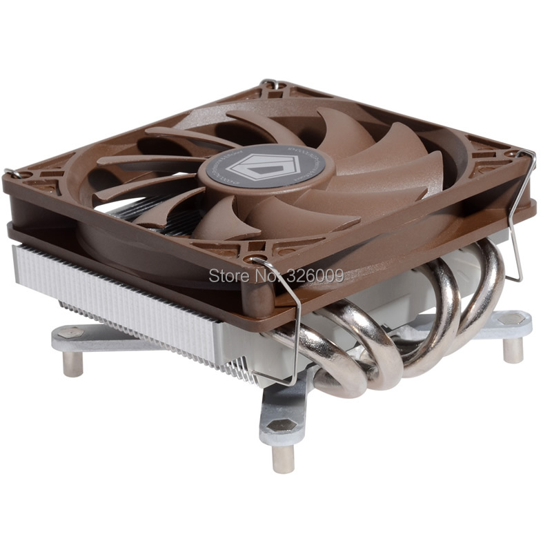 40mm thin for HTPC, Direct Touch, support 95W cooling for Intel LGA 1150 1151 11555 1156, CPU cooler, ID-cooling IS-40pro
