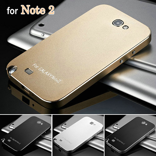 reputable site 76d5e 424b2 Note2 Luxury Ultra Thin Aluminum Case for Samsung Galaxy Note 2 II ...