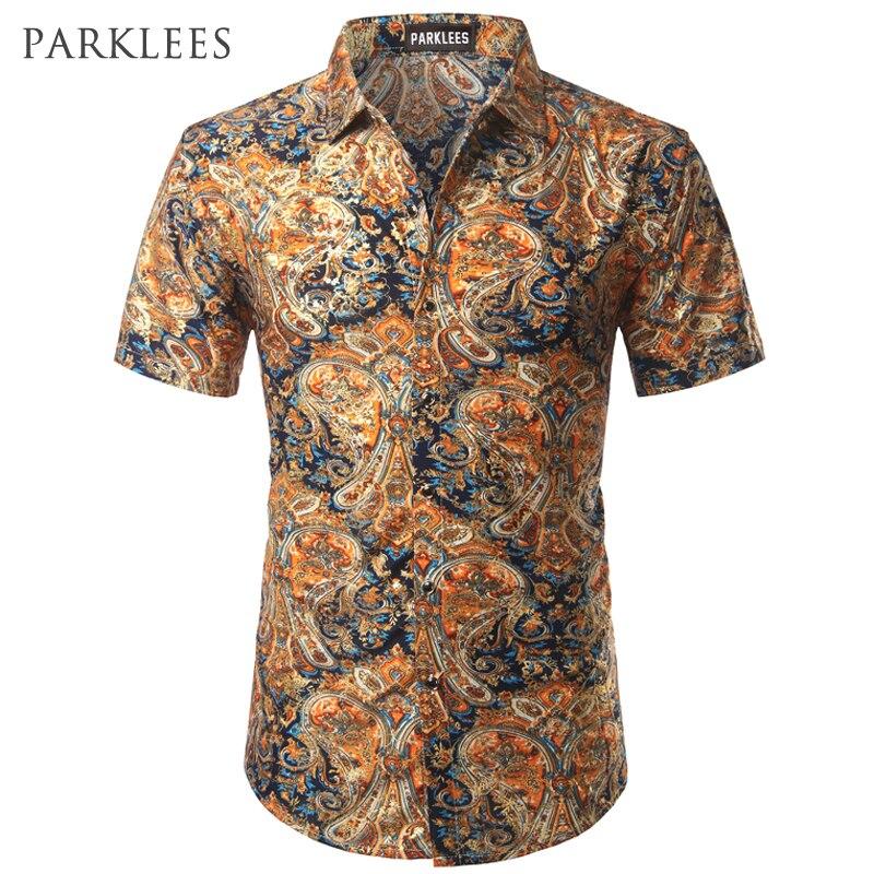 Babykleidung Jungen Bodys & Einteiler Liefern Hemd Männer 2019 Sommer Neue Kurzarm Hawaiian Shirt Herren Casual-taste Unten Kleid Shirts Für Urlaub Chemise 7xl