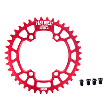PASS QUEST 96BCD MTB Narrow Wide Chainring/Chain Ring 34T/36T/38T/40T/42T/44T/46T/48T Bike Bicycle deore xt Chainwheel Crankset fouriers bicycle mountain bike mtb oval crankset chainring chainwheel 34t 48t aluminum bcd104 gear