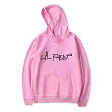 SMZY Lil Peep Hooded Hoodies Mens Sweatshirts United States Popular Rap Singer Sweatshirts Men The Great Hip Hop Singer Clothes