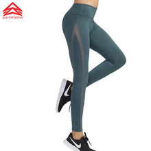 SYPREM leggings Yoga Pants women mesh high waist yoga black leggings high elastic new sexy girls yoga pants leggings,CK181083