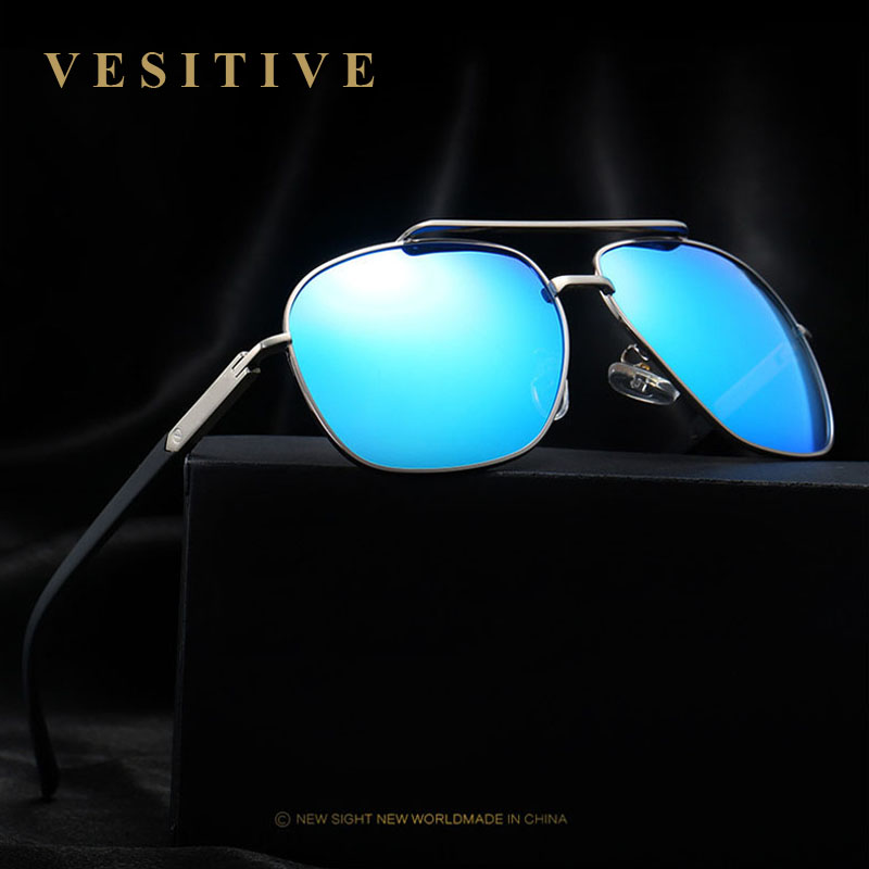 2017 Aluminum Polarized Sunglases Men Sports Vintage Driving Mirror Sun Glases Male Eyewear Gafas De Sol Polarizadas Hombre ...