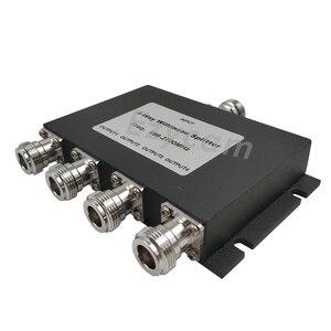 Image 4 - 4 yönlü Güç Bölücü 698 ~ 2700 MHz N dişi 4 yönlü Güç Bölücü cep telefonu Sinyal Güçlendirici tekrarlayıcı Amplifikatör Anten Kablosu
