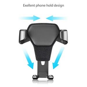 Image 3 - Популярный автомобильный гравитационный держатель для телефона в автомобиле, подставка с креплением на вентиляционное отверстие, без магнитного держателя мобильного телефона, универсальная гравитационная подставка для смартфона