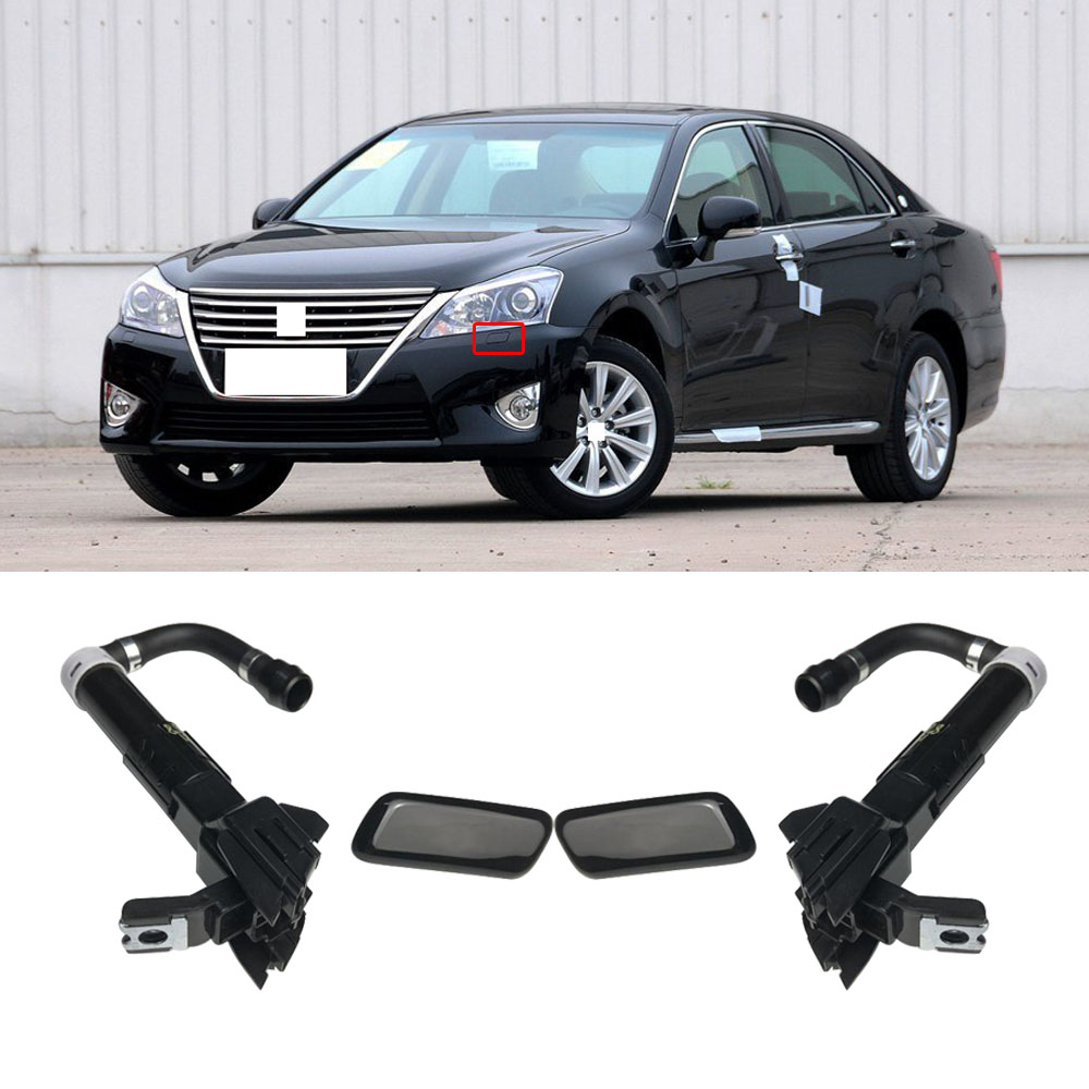 Exterior Parts Faithful Capqx For Toyota Crown 2010 2011 2012 Front Head Lamp Headlight Washer Nozzle Actuator & Cover Cap Spray Jet Housing Wide Varieties