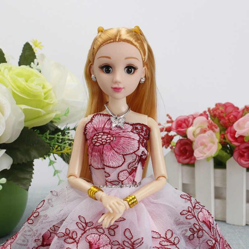 Muñeca BJD de 30cm, pastel corporal de sirena, diseño de boda, modelo de 12 muñecas articuladas de vestir, juguetes para niñas