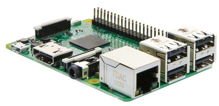 Prix pour Raspberry Pi 3 Modèle B RPI 3 avec 1 GB RAM 1.2 GHz Quad-Core ARM Cortex-A53 64 Bits DU PROCESSEUR Bluetooth 4.0 Plus Rapide que RPI 2