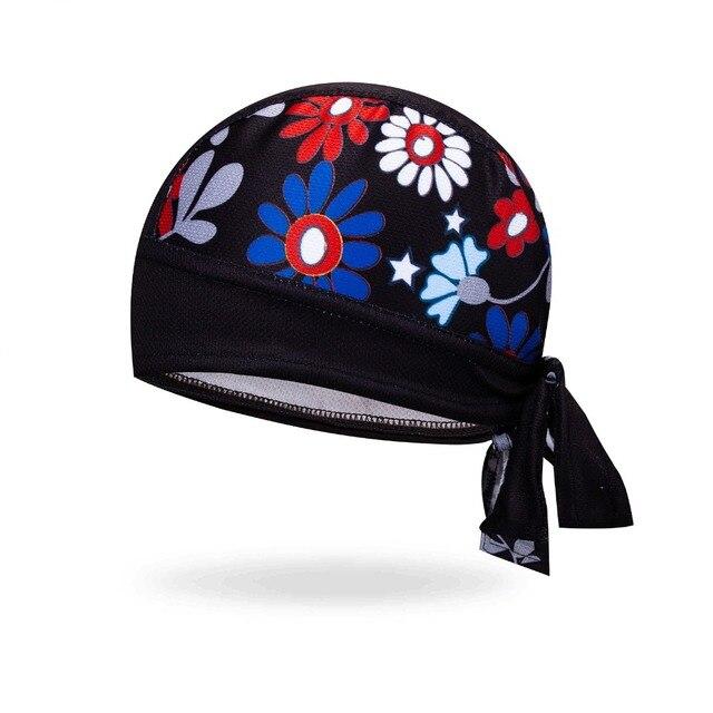 Coolmax casquette de cyclisme femmes hommes vélo chapeau chapeaux vélo Pirate écharpe vtt bandeau anti-transpiration équitation sport casque porter Bandana