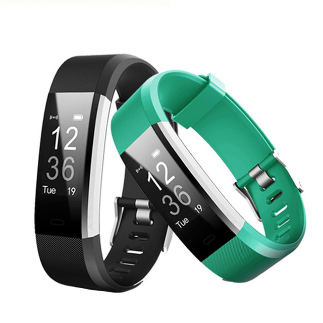 Id115 Plus Hr Fitness Gps Activity Tracker Smart Bracelet Sleep Monitor Band Bt Camera And Music Remote Control