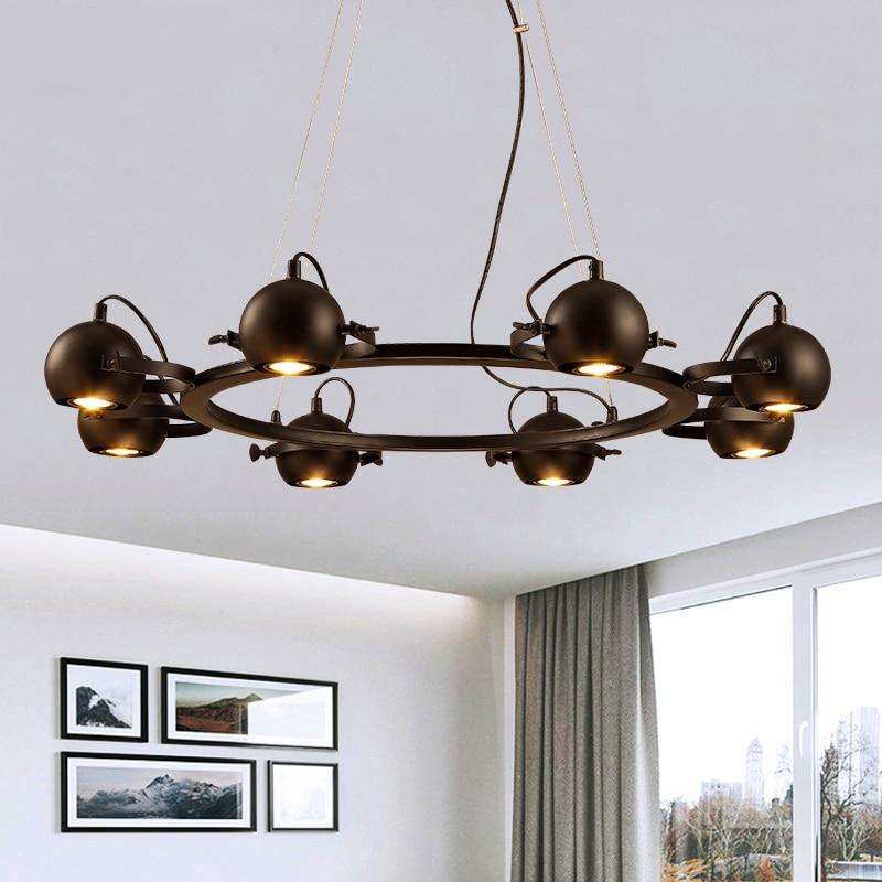 Nordic Post-Modern Iron living room lamps Designer Hanging lights Restaurant Lighting Fixture Novelty Bar Cafe Pendant Lights цена 2017