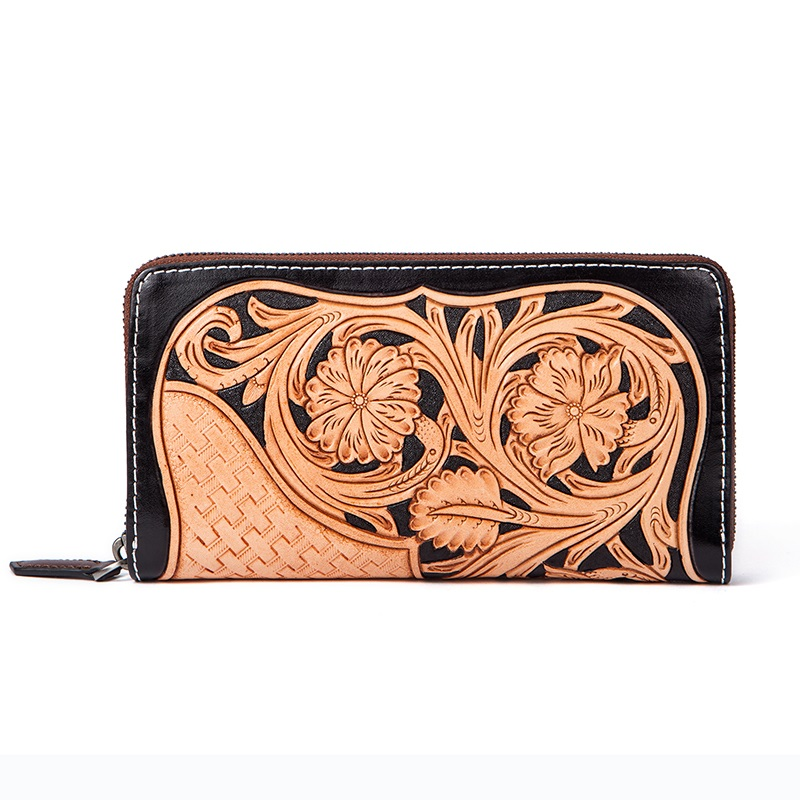ladies long cowhide genuine leather purse wallet case female women with coin pocket card holder phone wallet note compartment simline fashion genuine leather real cowhide women lady short slim wallet wallets purse card holder zipper coin pocket ladies