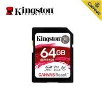 Kingston Technology SD Card 64GB memory card 100 MB/s Class10 cartao de memoria SDXC UHS I HD video carte sd For Camera hot