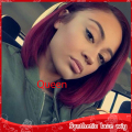 New Amaranth Red Synthetic lace front bob straight  wig bob hair cheap wig heat resistant glueless lace wigs for black women