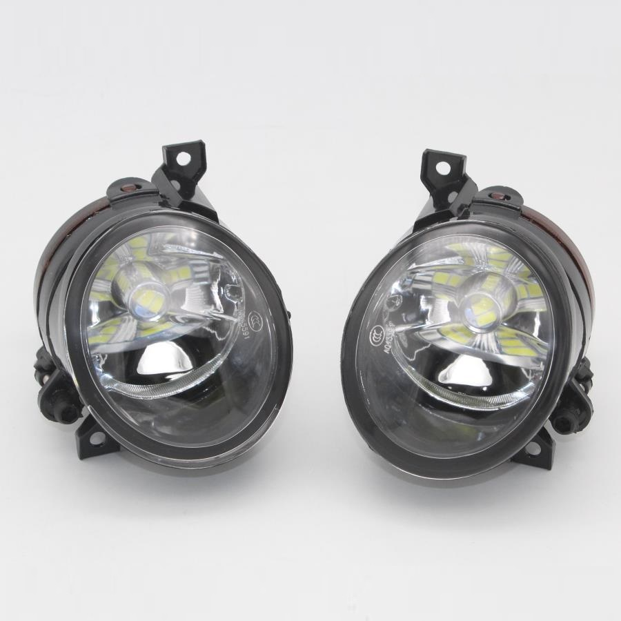 LED Car Light For VW Amarok 2009 2010 2011 2012 2013 2014 2015 2016 Car-styling Front Bumper LED Fog Lamp Fog Light