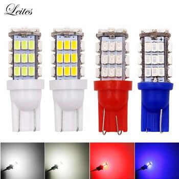 500pcs Car Led Light T10 W5W 168 194 1206 42SMD LED Bulb Lamp White Color for Car Auto Led Wedge Light Bulbs 12V Warm white