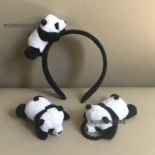 FULL ALL Designs , New HOT 3cm Little Plush toys FOR Hair Band , Hair TIE , Kid's Party Gift Panda Plush Stuffed toys