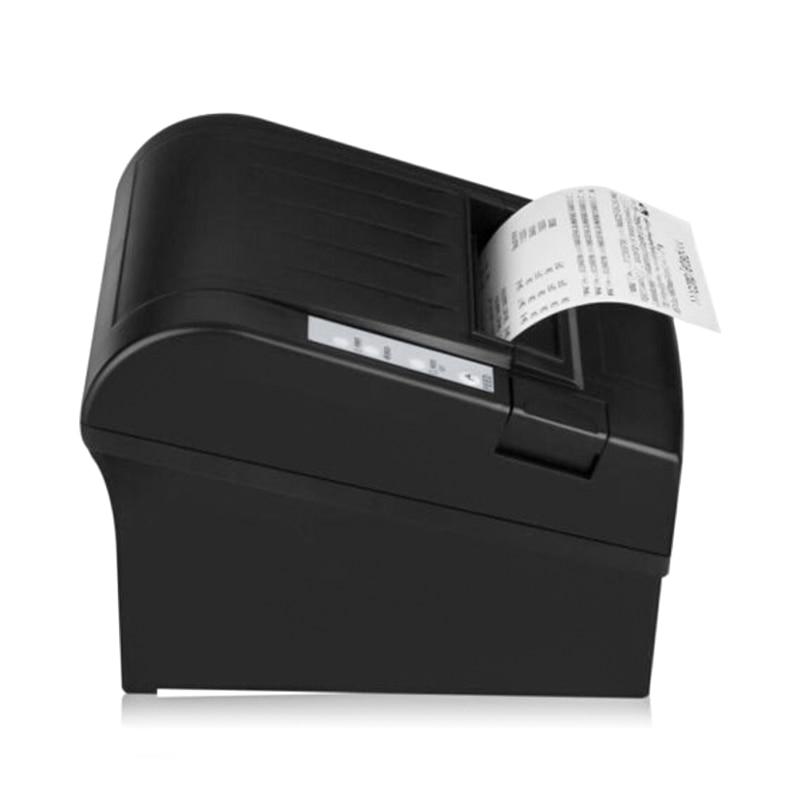 Imprimante automatique de code barres Bluetooth 1 IOS et 7 Android imprimante de code barres 80mm POS-8220 LN thermique pour le système de point de vente expédition rapide